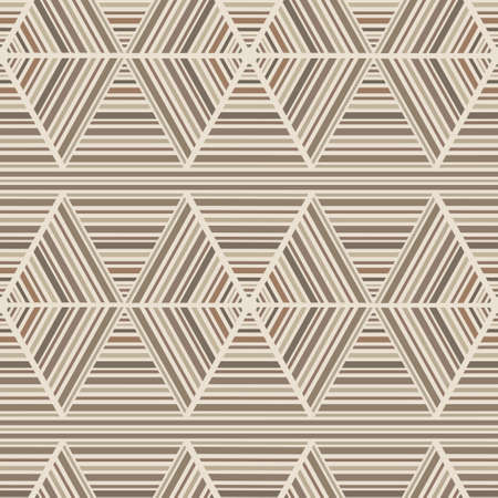 Vector seamless abstract wooden parquet brown background Vector