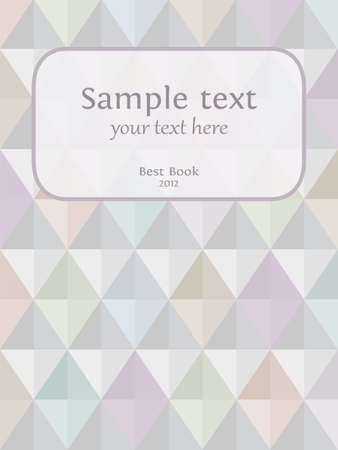 Seamless harlequin background with a place for text Vector