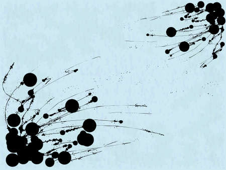 paint drip: Abstract grungy vector seamless pattern with blots