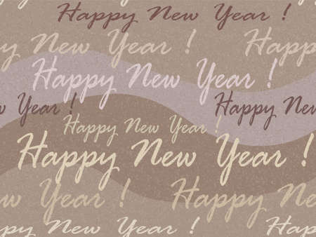 inscriptions: Christmas and New Year vector background with inscriptions Illustration