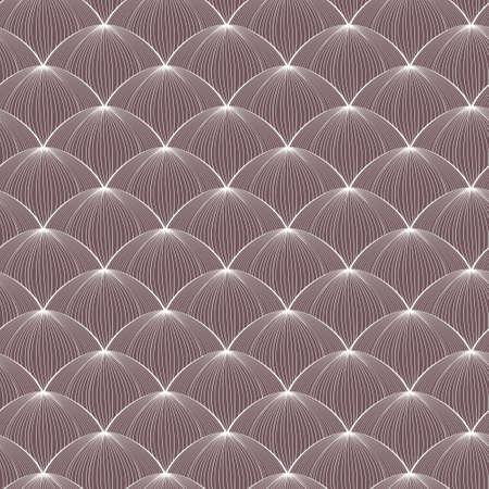 シームレスなパターンで引かれた線ボール様式化されました。  イラスト・ベクター素材