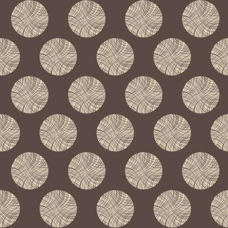 cut logs: Seamless pattern c�rculos toc�n, vector ilustraci�n marr�n