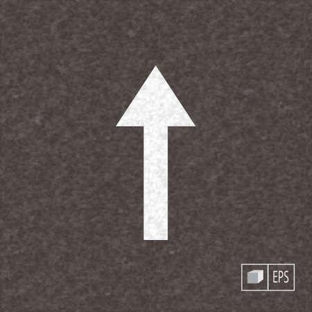 road marking: Realistic background with road  marking. Asphalt dark texture