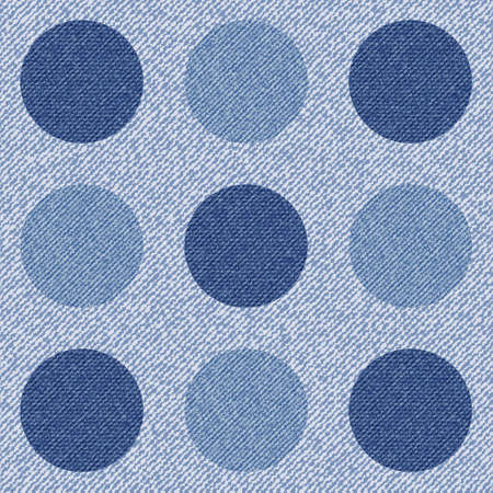 Elegance seamless pattern with denim jeans background. Vector