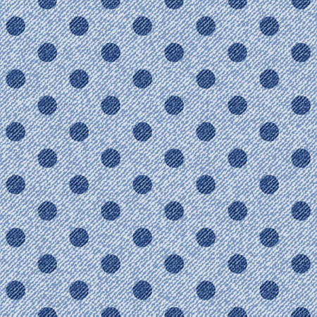 sewed: Elegance seamless pattern with denim jeans background.