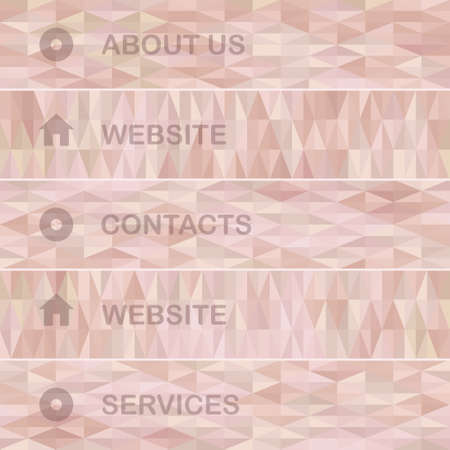 websit: Geometric mosaic pattern from  triangle texture,  can be used invitation websit