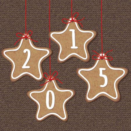 christmas cookies: Christmas cookies illustration Illustration