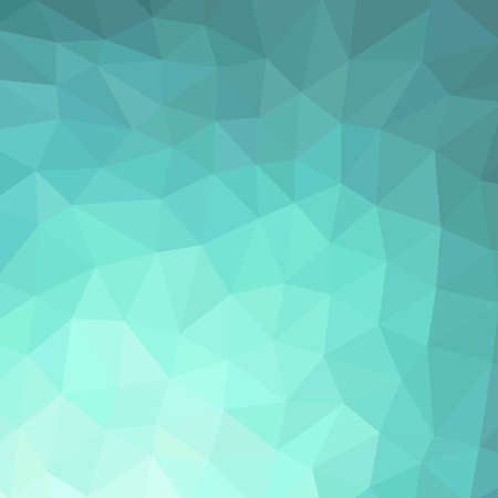 Vector abstract background of turquoise rhombus. Vector