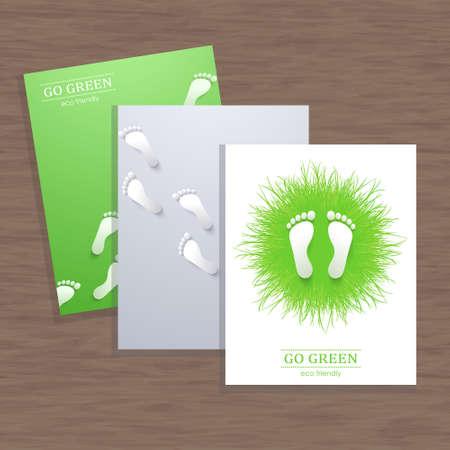stride: Vector corporate identity, watercolor design. Geometric banner design template. Brand, visualization, corporate identity business set