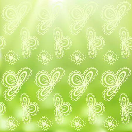 Vintage hand drawn decorative paisely background Vector