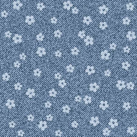 Elegance seamless pattern with denim jeans background