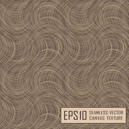 çuval bezi: Realistic seamless texture of burlap, canvas. Beige, brown. Çizim