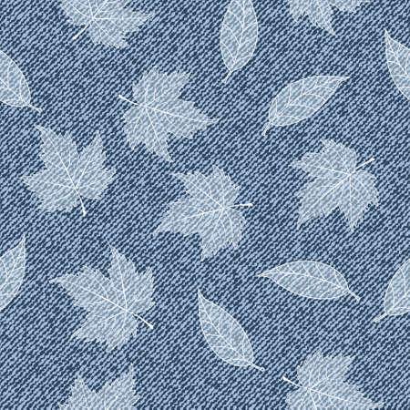denim jeans: Elegance seamless pattern with denim jeans background