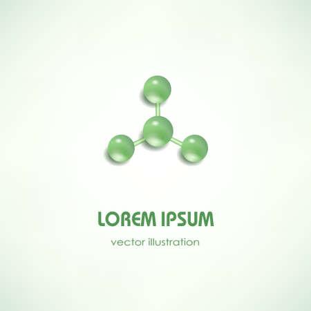 textfield: Modern stylized business card with geometric icon