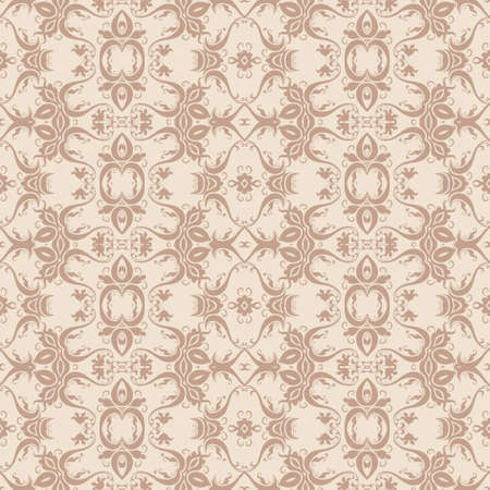 victorian wallpaper: Vector seamless pattern in Victorian style. Element for design.  It can be used for wallpaper, pattern fills, web page background, surface textures, classic fabric.