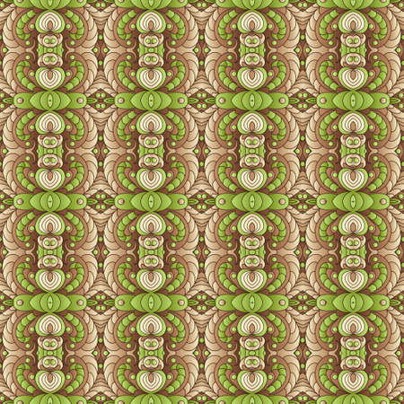 beige: Seamless vector floral  pattern, pattern can be used for wallpaper, pattern fills, surface textures