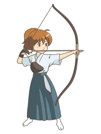 girl_japanese_archery