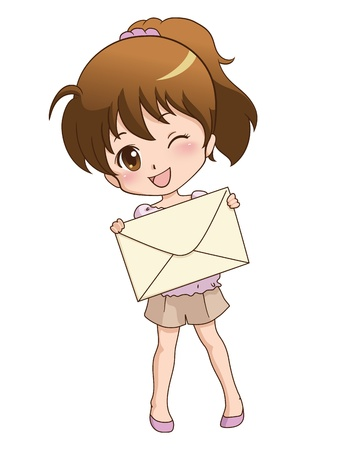passing: girl_mail