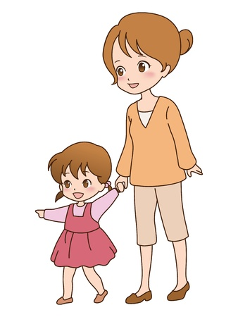 one parent: family_walk