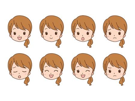 Woman_face 写真素材 - 20642061