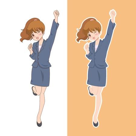 woman_smile Illustration