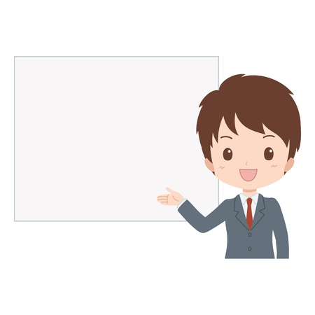 man_guide Stock Vector - 21200406