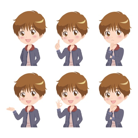 boy_pose Vector