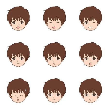 jongen gezicht