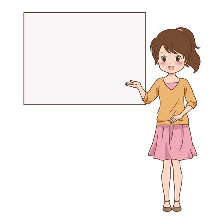 girl_guide  Illustration