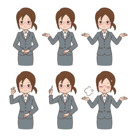girl_variation  Ilustrace