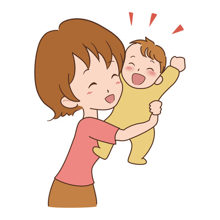 woman_baby Stock Vector - 22182011