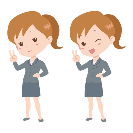 woman_happy  Vector