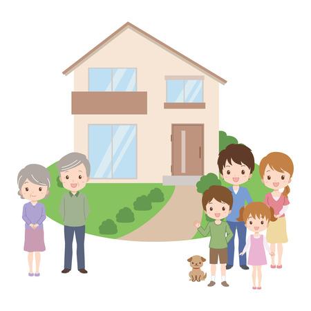 multi family house: family_home  Illustration