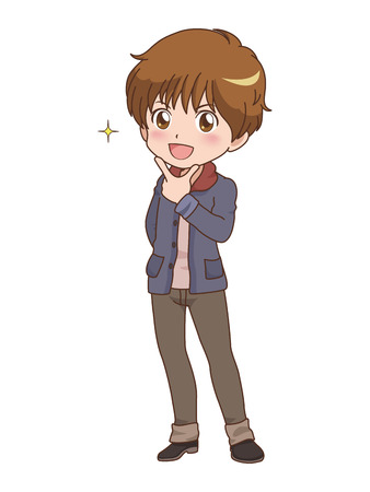 boy_pose  Illustration