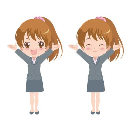 woman_happy  Illustration