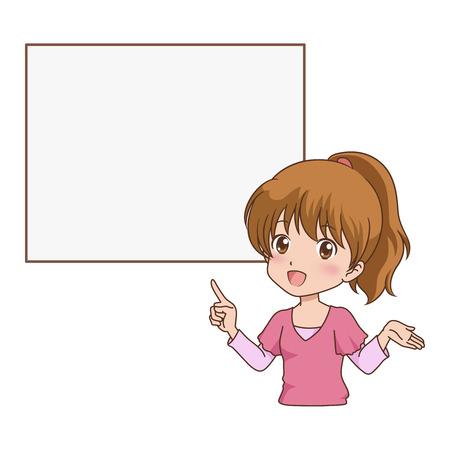 girl_guide  Ilustrace