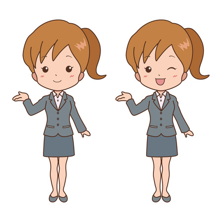 woman_guide  Vector