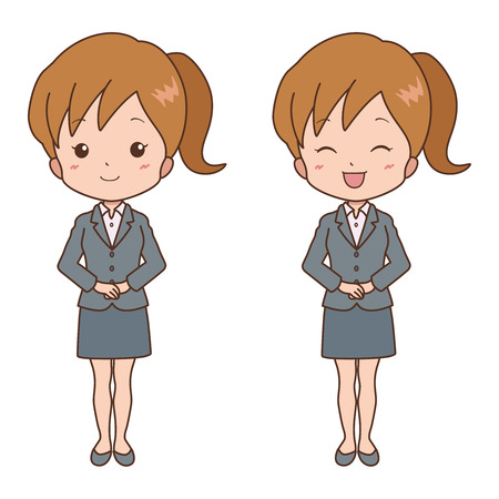 woman_smile  Vector