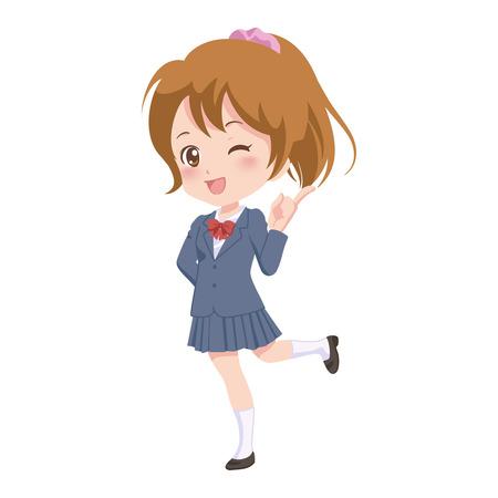 howard: girl_guide  Illustration