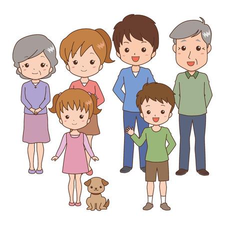 family Stock Vector - 26108833