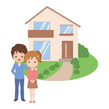 family house Stock Vector - 26173597