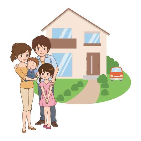 commemorate: family Illustration