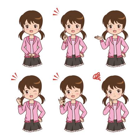girl pose