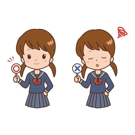 girl: girl pose