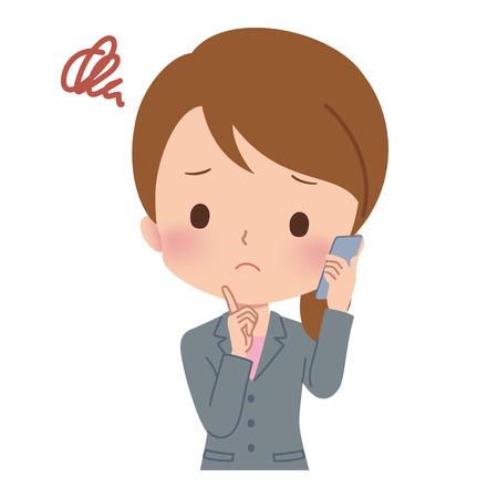 woman on phone: woman phone