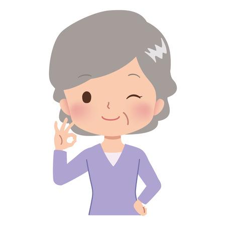 woman pose Illustration
