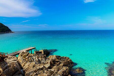 terengganu: A seaview in Perhentia Islands, Terengganu, Malaysia.