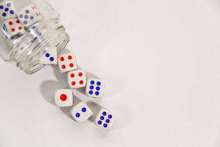 Dice is the object have dot for number.