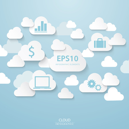 Cloud BusinessFiles included  Vector