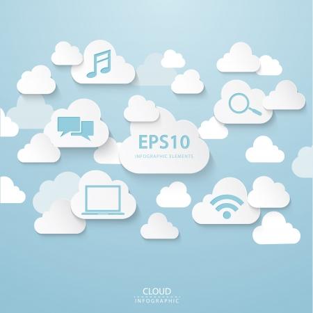 Cloud connectionFiles  Vector
